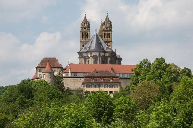 Comburg, Castle, Schwäbisch Hall, Monastery