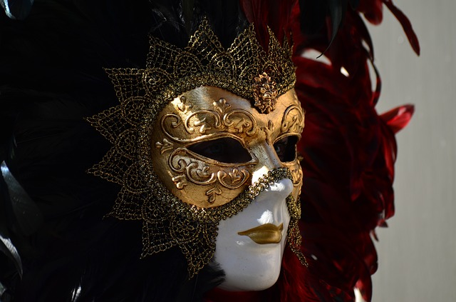 Schwäbisch Hall, Hallia Venezia, Face, Carnival, Mask