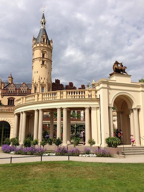 Castle, Schwerin, Mecklenburg Western Pomerania