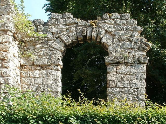 Roman, Building, Aqueduct, Schwetzingen, Monument