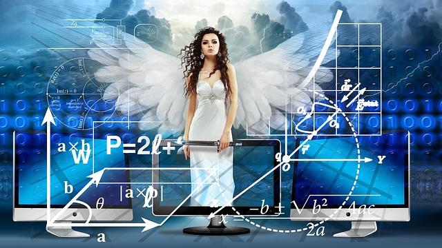 Spirituality, Science, Angel, Monitor, Binary