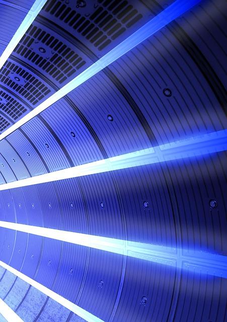 Background, Lighting, Wall, Corridor, Science Fiction