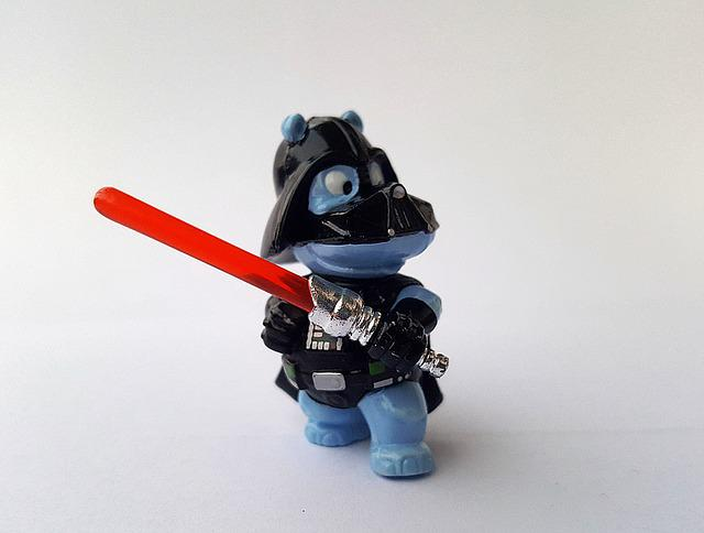 Hippo, Darth Vader, Star Wars, Science Fiction, Fig