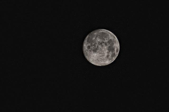 Moon, Super Moon, Space, Science, Sky, Celestial Body