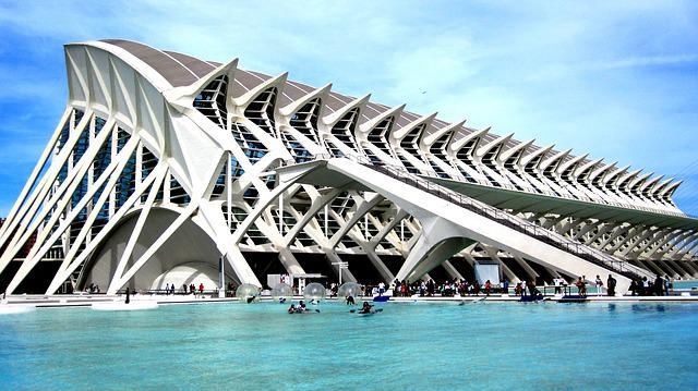 City, Arts, Science, Valence, Valencia, Spain