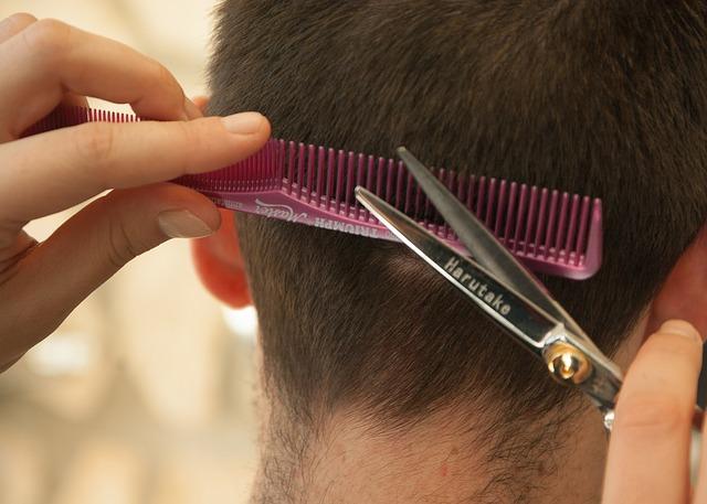 Hairdresser, Hair Cut, Comb, Scissors