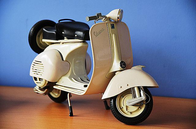 Vespa, Scooter, Model, Classic, Oldtimer, Italy