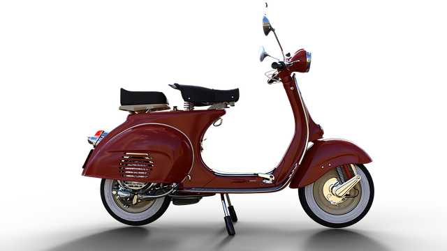 Vespa, Scooter, Moped, Old, Vehicle, Motorcycle, Retro