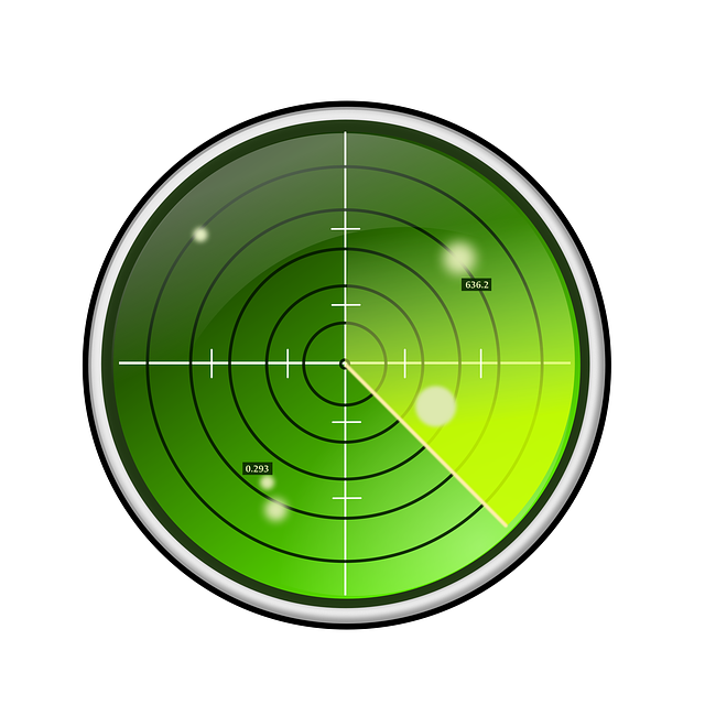 Radar, Green, Blips, Search, Circle, 360, Round, Scope