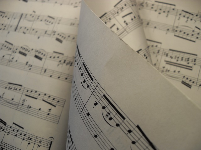 Sheet Music, Music, Melody, Sheet, Score, Piano, Treble