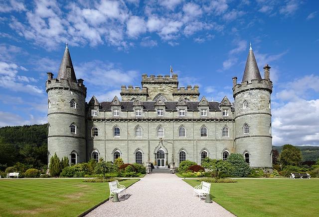 Castle, Scotland, Architecture, Places Of Interest