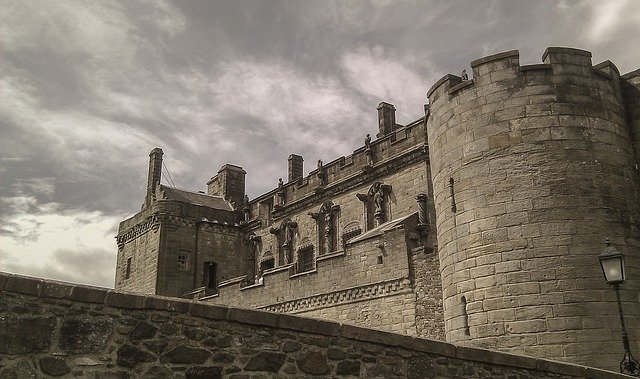 Stirling Castle, Scotland, Stirling, Castle, Grey
