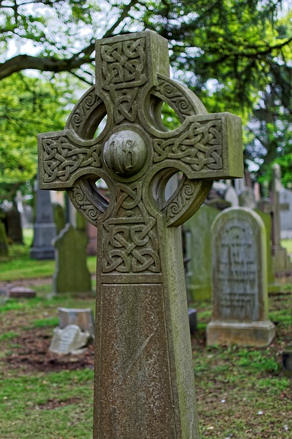 Dean's, Garden, Cemetery, Edinburgh, Scotland