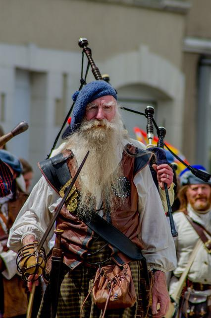 Scotland, Clan, Edinburgh, Parade