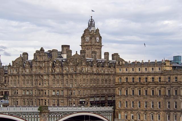 Balmoral Hotel, Edinburgh, Scotland, Victorian