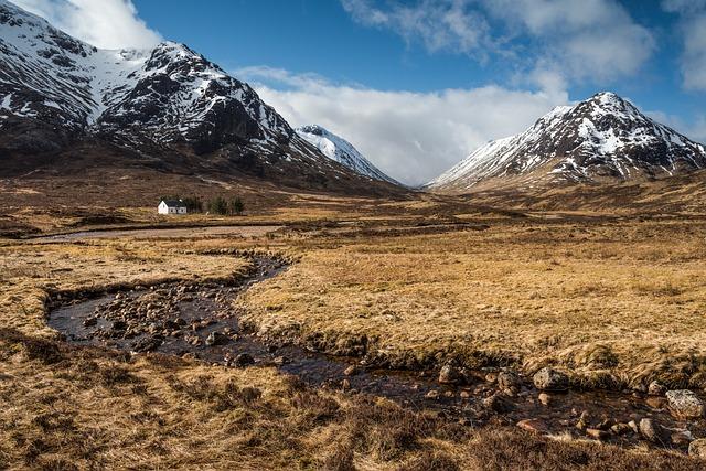 Scotland, Glencoe, Highlands, Mountains, Landscape