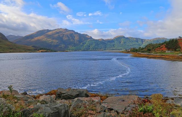 Waters, Nature, Landscape, Lake, Mountain, Scotland