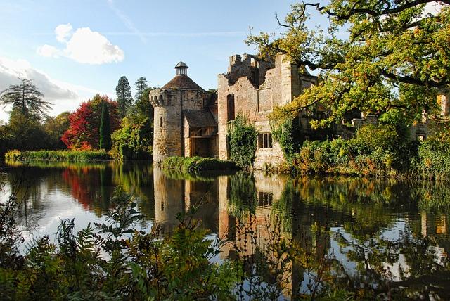 Scotney Castle, Castle, Kent, Sussex, Medieval, England