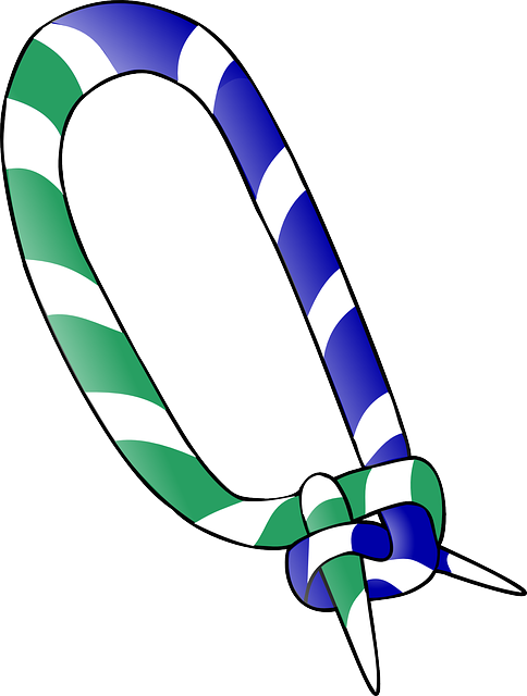 Tie, Scout, Green, Blue, Knot, Scarf