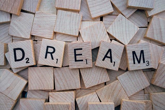 Dream, Word, Letters, Scrabble