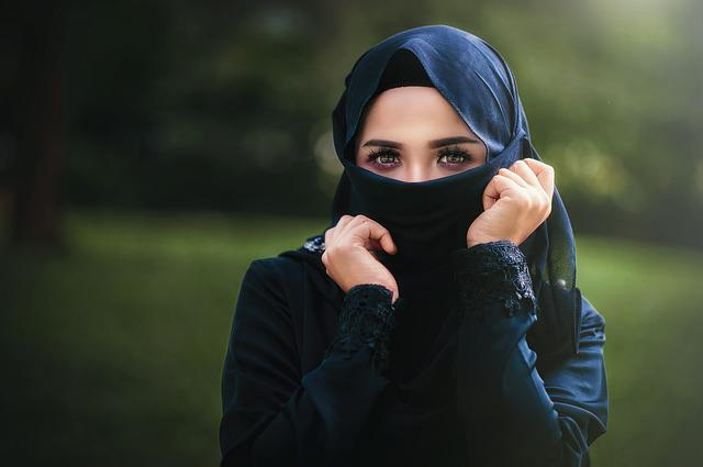 Woman, Arabic, Islam, Scraf, Hidden, Hood, Face, Veil