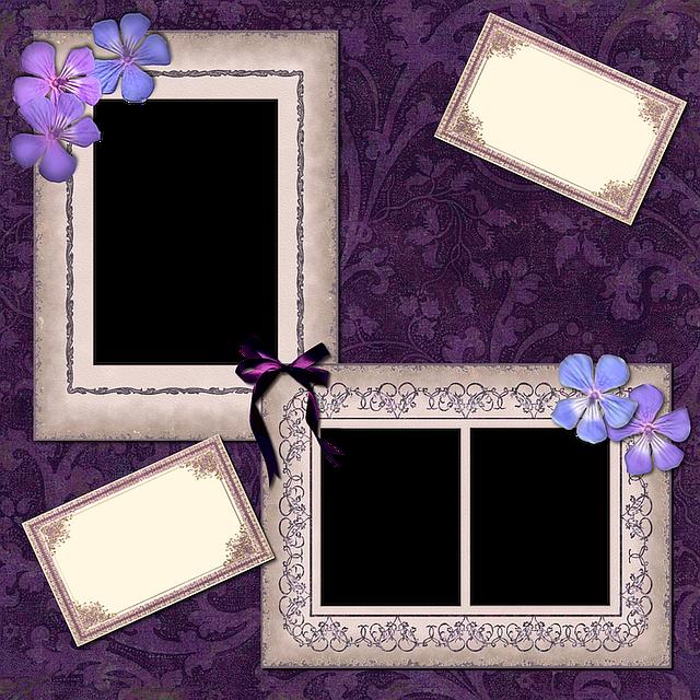 Scrapbook, Scrap, Background, Page, Craft, Frame, Lace