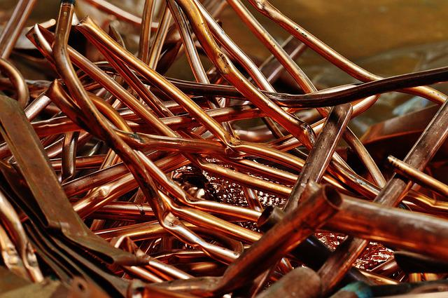 Copper, Scrap Metal, Scrap, Disposal, Recycling, Reuse