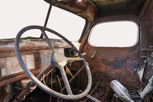 Truck, Scrap, Transport, Oldtimer, Historically, Old