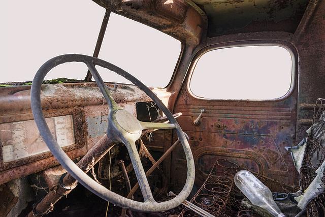 Truck, Scrap, Transport, Oldtimer, Historically, Old