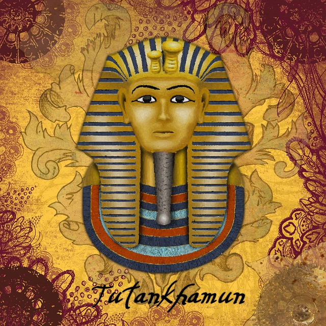 Tutankhamun, Vintage, Scrapbook, Old, Ancient