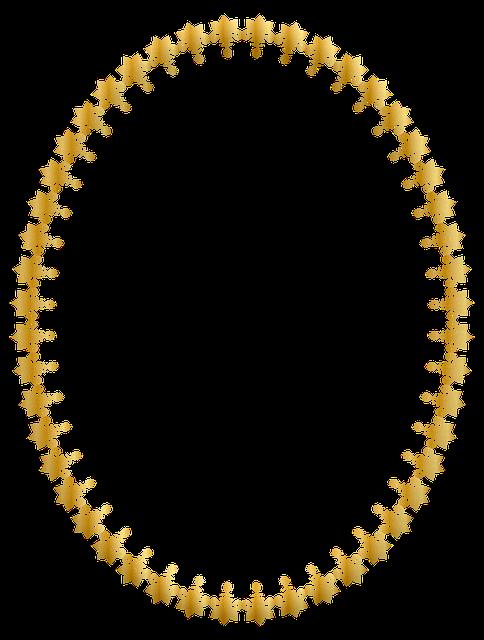 Henna Frame, Glitter, Gold Foil, Scrapbook Frame, Frame