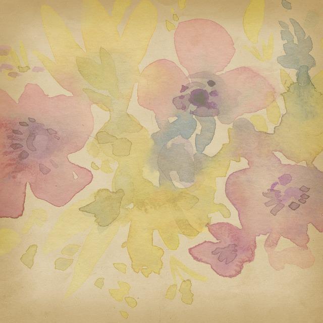 free photo scrapbook watercolor background pastel