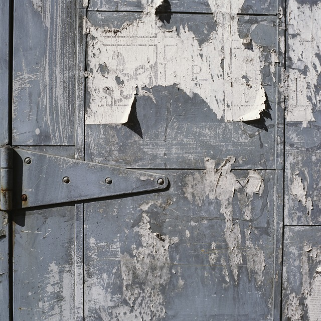 Door, Old, Scrape, Entrance, Antique, Wood, House