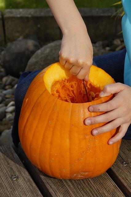 Scrape Off, Scoop Out, Pumpkin, Halloween, Autumn