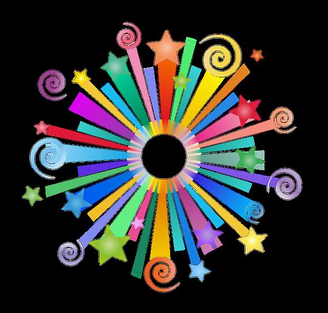 Stars, Snails, Screen, Colorful, Magic, A Fairy Tale