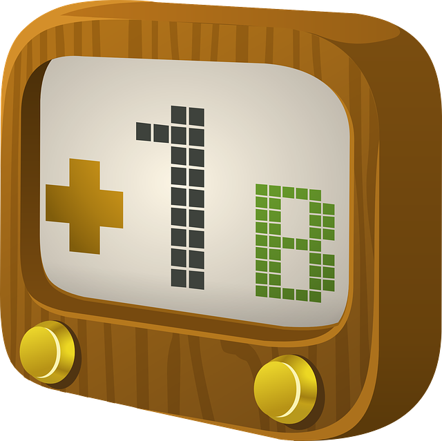 Tv, Screen, 1b, Television, Wood, Buttons, Old, Flat