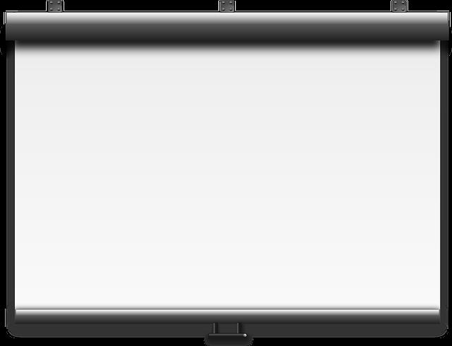 Projector, Screen, Slide, Board