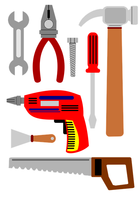 Tools, To Repair, Serra, Drill, Screwdriver, Pliers