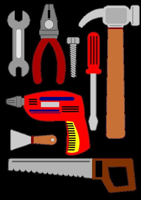 Tools, To Repair, Serra, Drill, Screwdriver, Pliers