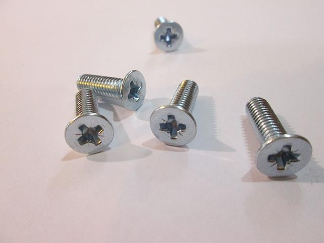 Screw, Screws, Metal, Thread, Tools, The Industry