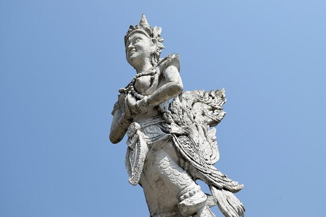Thailand, Angle, Sculpture, Chiang Mai Thailand