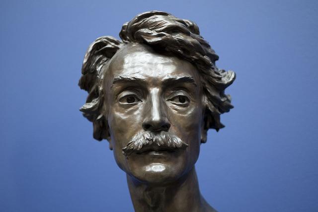 Sculpture, Art, Statue, Man, Face