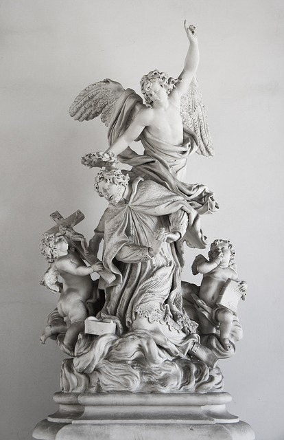 Sculpture, Vienna, Austria, Tour, Monument, Angel, Holy
