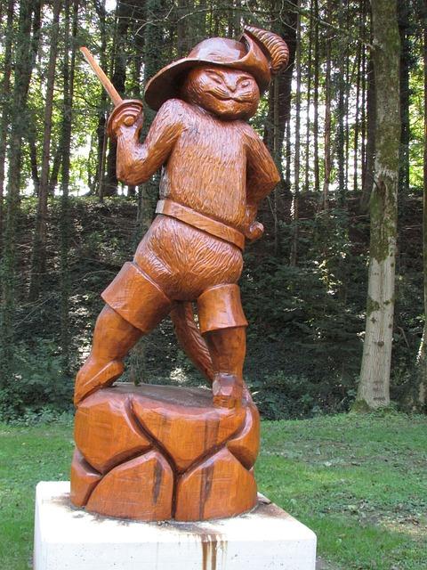 Park, Carve, Wood, Art, Sculpture, Carving, Craft