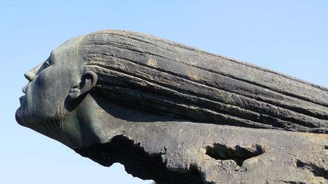Italy, Garda, Desenzano Del Garda, Sculpture