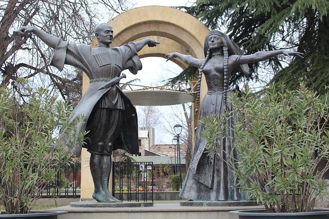 Architecture, Tbilisi, Georgia, Sculpture, Statue