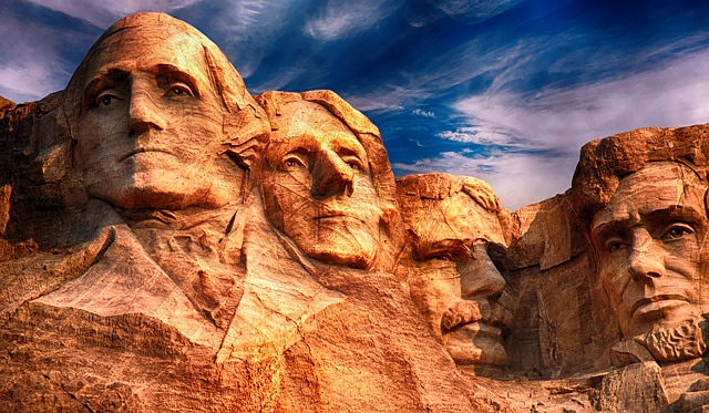 Mount Rushmore, Sculpture, Monument, Landmark, National