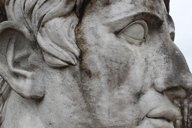 Sculpture, Statue, Art, Monument, Old, Antiquity, Face