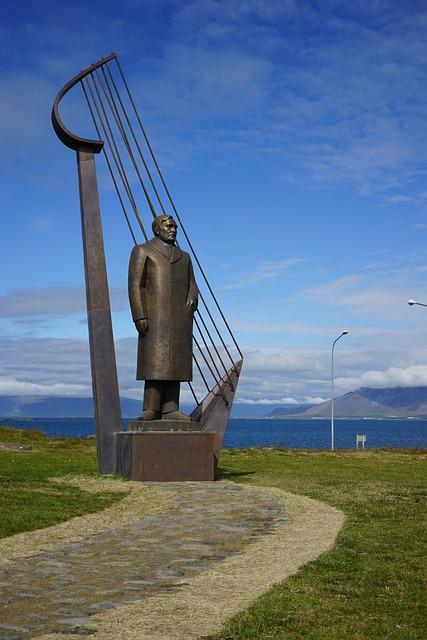 Reykjavik, Sculpture, Iceland