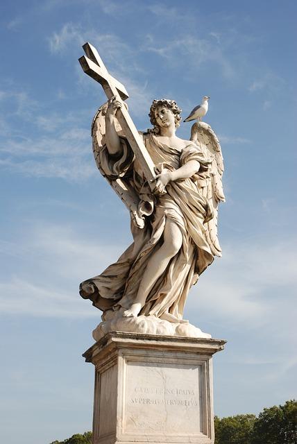 Statue, Sculpture, Travel, Architecture, Monument, Rome
